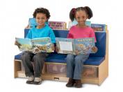 Jonti-Craft 37460JC Jonti-Craft Literacy Couch- Blue