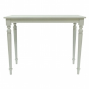 Carolina Chair and Table Co. Chesterfield 90cm H x 120cm W x 60cm D Bar - Antique White