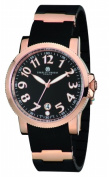 Charles-Hubert Paris 3892-RG Mens Rose Gold-Plated Stainless Steel Quartz Watch