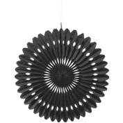Amscan Hanging Fan Decoration - Solid