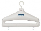 Travelon 12124-80 Set Of 2 Inflatable Hangers - White Plastic