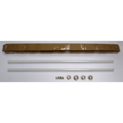 ALFI brand ABUMSB 39 in. White Metal Rods for Undermount Farm Sink - Installation Kit