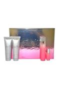Just Me by Paris Hilton for Women - 4 Pc Gift Set 100ml  Eau De Parfum   Spray 90ml Bath and Shower Gel 90ml Body Lotion 5ml  Eau De Parfum   Spray