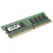 Crucial Technology CT25664AA1067 2 GB 240-pin DIMM DDR2 PC2-8500 CL=7 Unbuffered NON-ECC DDR2-1066 1.8V 256Meg x 64 Memory