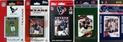 C & I Collectables TEXANS5TS NFL Houston Texans 5 Different Licenced Trading Card Team Sets