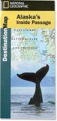National Geographic Maps DM01020629 Alaskas Inside Passage Destination Map