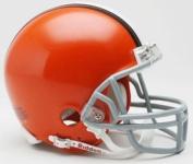 Creative Sports RD-BROWNS-MR Cleveland Browns Riddell Mini Football Helmet