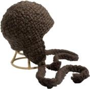 Nirvanna Designs CH306 Long Tassel Earflap Hat - Mud