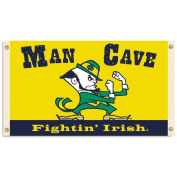 BSI PRODUCTS 95636 Man Cave 3 Ft. X 5 Ft. Flag with 4 Grommets - Notre Dame Fighting Irish