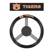 Fremont Die 58505 Auburn Tigers- Poly-Suede Steering Wheel Cover