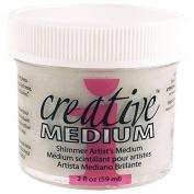 Imagine Crafts Creative Medium Glue for Arts and Crafts, 60ml, Shimmer