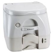 Dometic - 974MSD Portable Toilet 9.8l - Tan w/Brackets