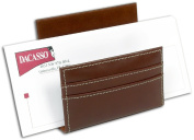 Dacasso A3208 Rustic Brown Leather Letter Holder