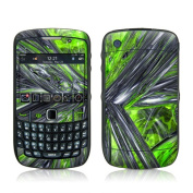 DecalGirl BBC5-ABST-GRN BlackBerry Curve 8500 Skin - Emerald Abstract