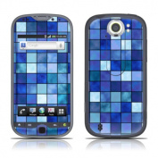 DecalGirl HM4S-MOSAIC-BLU DecalGirl HTC MyTouch 4G Slide Skin - Blue Mosaic
