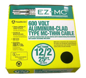 Southwire Company 25 12-2 Type MC Cable Aluminum 68580021