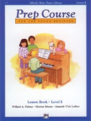 Alfred 00-6291 Basic Piano Prep Course- Lesson Book E - Music Book