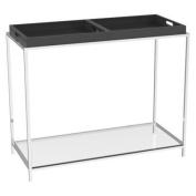 Convenience Concepts 131399BL Palm Beach Console Table - Black