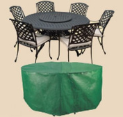 Bosmere B321 84 Inch Round Patio Set Cover