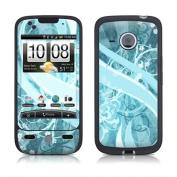 DecalGirl HDES-FLOR-BLU HTC Droid Eris Skin - Flores Agua