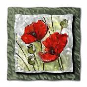 All My Walls FLOR00019 Blossoms Metal Wall Art