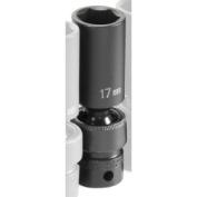 Grey Pneumatic GRE1017UMD .38 in. Drive x 17mm Deep Universal Socket