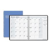 House Of Doolittle HOD26308 Academic Monthly Planner 8 .50 X 11 Bright Blue Wirebound