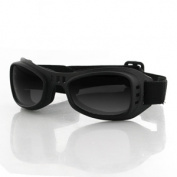 Balboa BRR001 Road Runner Goggle Black Frame Smoked Lens
