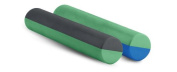 Ecowise 83319 Dual Colour Foam Roller- Green- Grey
