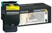 Lexmark Return Programme Extra High Yield Yellow Toner Cartridge - Laser - 4000 Page - Yellow