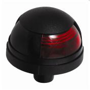 Attwood Pulsar & #153; 1-Mile Deck Mount, Red Sidelight - 12V - Black Housing