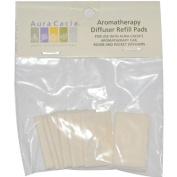 Aura Cacia 0318675 Aromatherapy Diffuser Refill Pads - 10 Refills