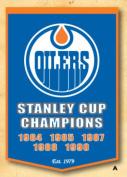 Winning Streaks Sports 78035 Edmonton Oilers Banner