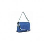 Sailor Bags 321-BG Messenger Bag, Naut, Blue with Grey Trim