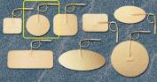 Pepin WTS2 Advantrode Tan Spunlace Electrode - 5.1cm Round Prewired - 20 Packs Of 4
