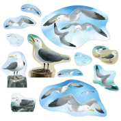 Beistle 54379 Party Seagull Cutouts