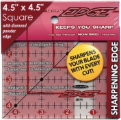 Sullivans 38174 The Cutting EDGE Frosted Ruler-4-1-5.1cm . x 4-1-5.1cm .