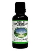 Maxi Health Kosher Vitamins 0135236 Maxi D3 Concentrate - 1000 IU - 1 fl oz