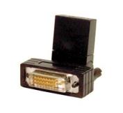 Comprehensive HDJ-DVIP-S Swivel HDMI Jack to DVI-D Male Adapter