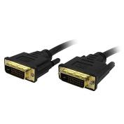 Comprehensive DVI-DVI-10ST Standard Series 28 AWG DVI-D Dual Link Cable 10ft