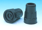 Cane Tips In Retail Box - Fits 3 / 4 Shaft Pk / 2 Black - 1753