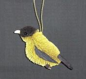 Brushart BRUSHOR27F Finch Ornament