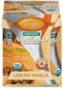 Pacific Natural Foods 63473 Pacific Natural Naturally Almond Vanilla Low Fat Beverage - 6x4-8 Oz