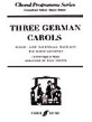 Alfred 12-0571518575 Three German Carols - Music Book