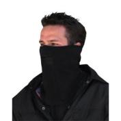 Zan Headgear WFMF114 Microfleece Face Mask with Mesh Mouth Black