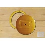 Gared Sports 6431 16cm . x 13cm . Swivel Cover Plate - Chrome