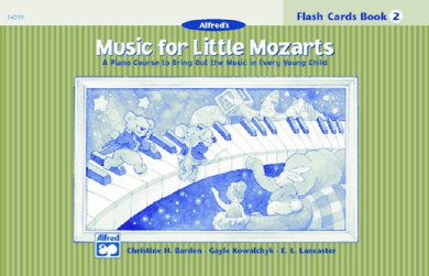 Alfred 00-14599 Music for Little Mozarts- Flash Cards- Level 2 - Music Book