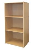 Ore International JW-190 3-Level Bookshelf