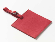 Clava CL-2005 Color Square Luggage Tag - CL Red
