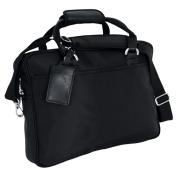 Ballistic Nylon Portfolio Bag w Shoulder Strap